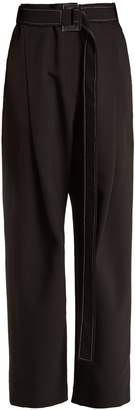 Kool Aid high-rise pleated trousers
