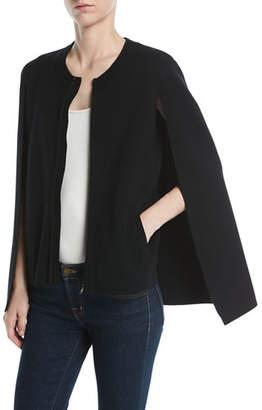 Kobi Halperin Donna Zip Cardigan Sweater w/ Cape