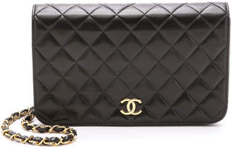 Chanel What Goes Around Comes Around Quilted Shoulder Bag