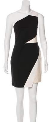 Aiko One-Shoulder Sleeveless Dress