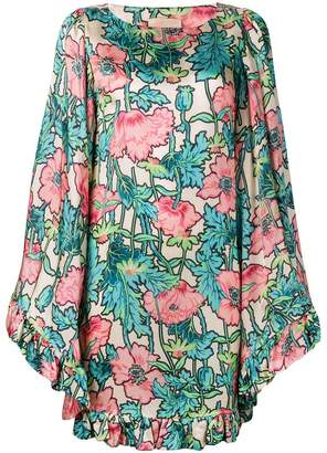 Cavallini Erika floral print shift dress