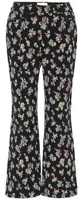 Erdem Floral jacquard pants