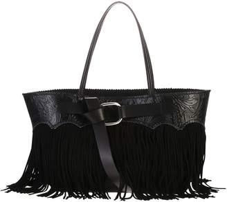 DSQUARED2 Black Fringed Bag