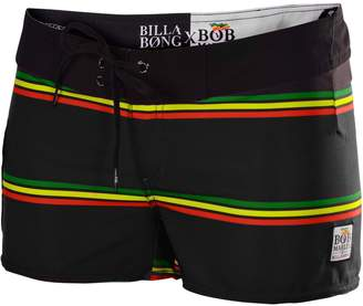 Billabong Juniors Bob Marley Smile Jamaica Board Shorts-(RTA)Black