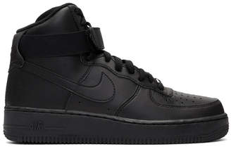 Nike Black Air Force 1 High 07 Sneakers
