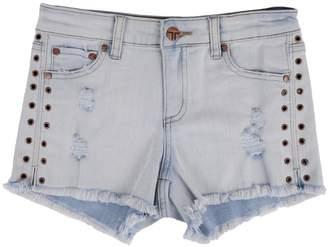 Tractr Fray Hem Shorts