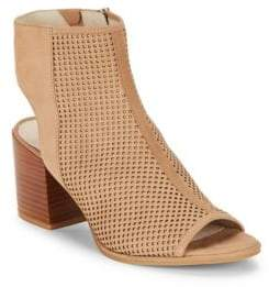 Kenneth Cole Charlo Perforated Ankle Boots
