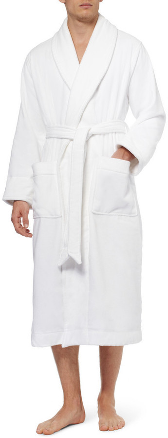 Brooks Brothers Cotton-Terry Bathrobe