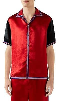 3492ecfa2ed Gucci Men s GG Star Acetate Bowling Shirt