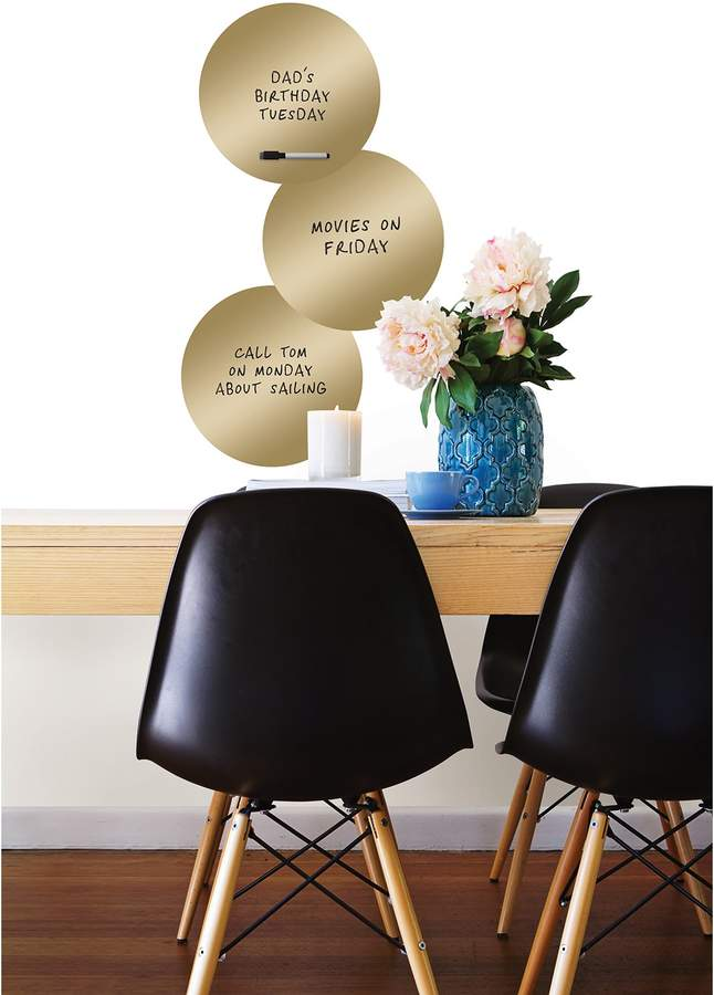 Brewster Home Fashions 14K Gold Dry Erase Dot Decals
