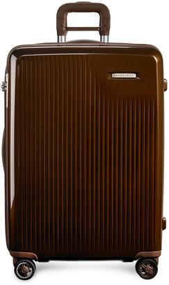 Briggs & Riley Sympatico medium expandable spinner suitcase Bronze