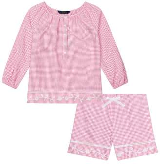 Polo Ralph Lauren Gingham Top and Shorts Set