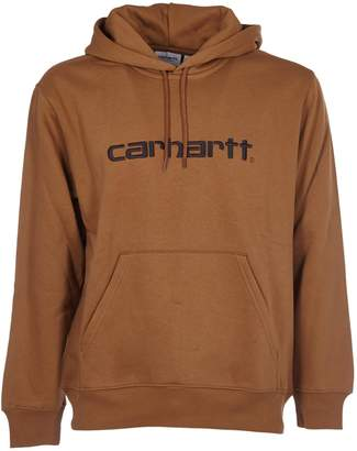 Carhartt Logo Embroidered Hoodie