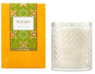 Agraria Lime & Orange Blossoms Woven Crystal Candle/7 oz.