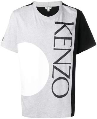 Kenzo logo colour-block T-shirt