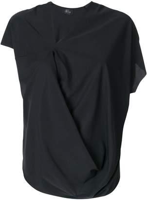 Lost & Found Ria Dunn short-sleeve draped blouse