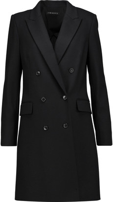 Theory Irma wool-blend coat $565 thestylecure.com