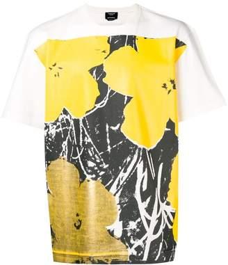Calvin Klein floral print T-shirt