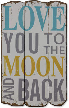 Love You To The Moon And Back Wall Decor