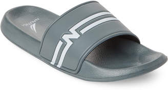 Nautica Radial Grey Kingston Slide Sandals