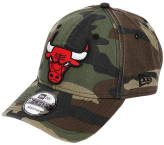 New Era 9forty Camouflage Bulls Nba Patch Hat