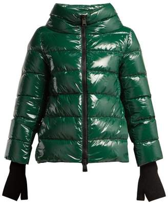 Herno Quilted Down Jacket - Womens - Green