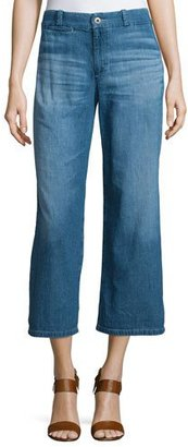 AG The Bobbie Wide-Leg Cropped Jeans, Weekend Getaway $198 thestylecure.com