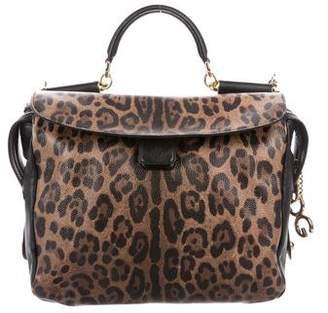Dolce & Gabbana Leopard Miss Sicily Bag