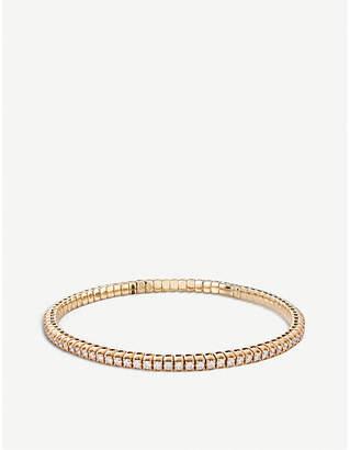 Rosegold BUCHERER JEWELLERY Classics 18ct rose-gold diamond bangle