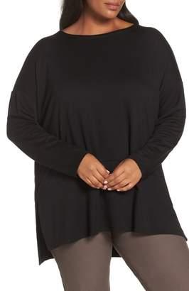 Eileen Fisher Stretch Tencel(R) Lyocell Knit Tunic