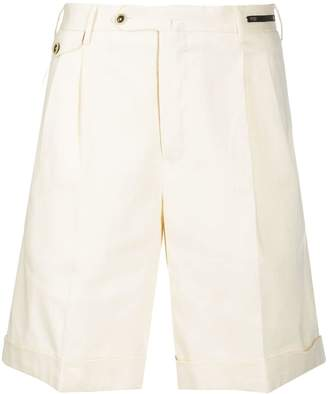 Pt01 pleated shorts