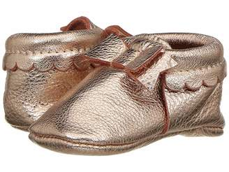 Freshly Picked Soft Sole Bow Moccasins (Infant/Toddler)