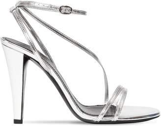 Isabel Marant 100mm Alta Metallic Leather Sandals