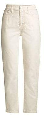 Current/Elliott Women's The Vintage Slim Crop Jeans