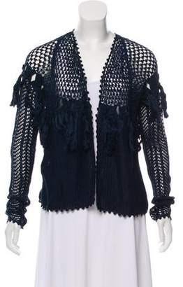 Ulla Johnson Crochet Knit Cardigan