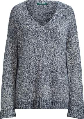 Ralph Lauren Marled V-Neck Sweater