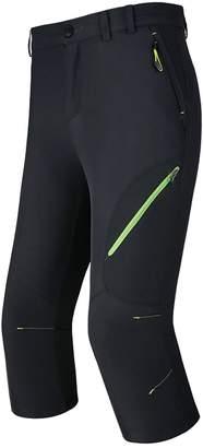 02fcd81096c Anjoy Men Capri Pants Quick Dry Shorts Anti-UV Breathable