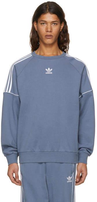 adidas Originals Grey Pipe Crew Sweatshirt