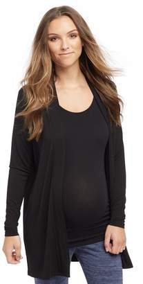 Motherhood Maternity Drape Maternity Cardigan