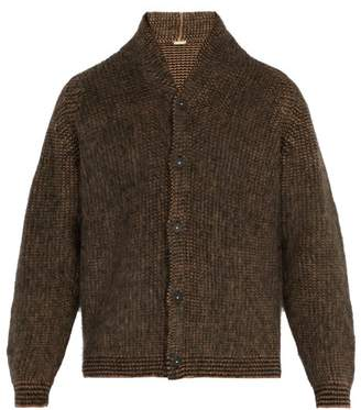 Massimo Alba - Brushed Camel Hair Cardigan - Mens - Camel