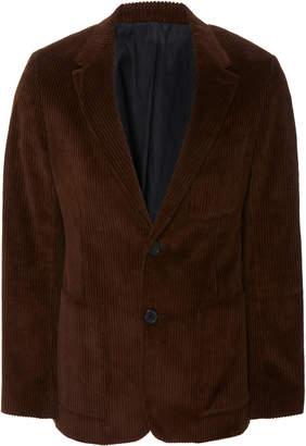 Ami Classic Two-Button Corduroy Blazer