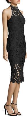Nicholas Azalia Lace Cutaway Midi Dress