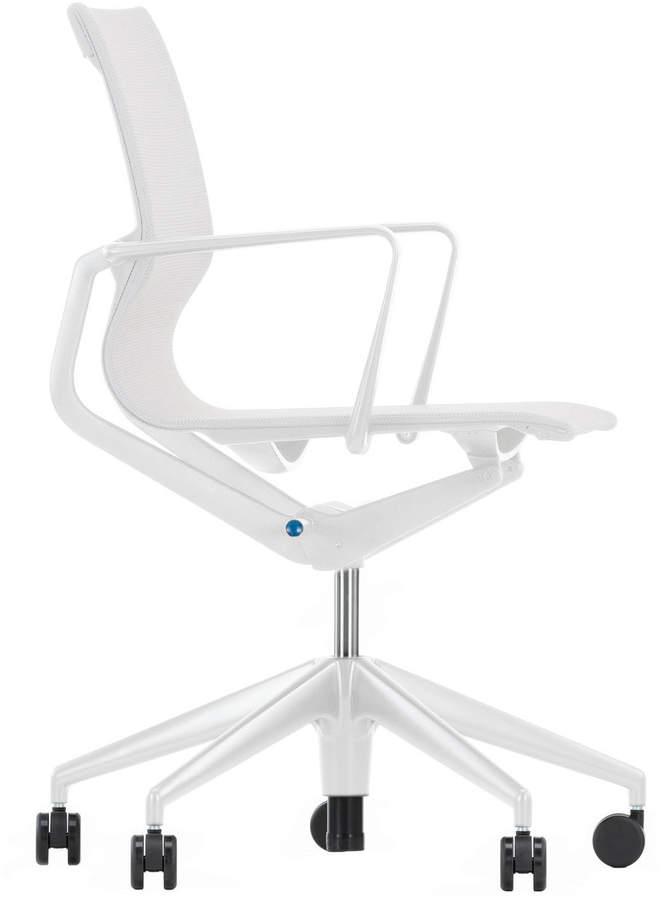 Physix Bürodrehstuhl, Silber / soft grey, weiche Rollen für harte Böden