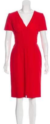 Versace Silk Midi Dress w/ Tags
