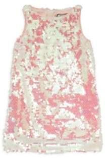 Milly Minis Little Girl's Paillette Shift Dress