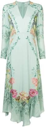 Vilshenko botanical print dress