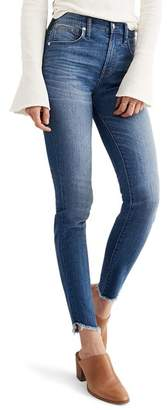 Madewell 10-Inch High-Rise Tulip-Hem Skinny Jeans