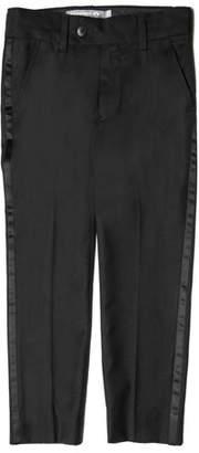 Appaman Satin-Trim Tuxedo Pants, Size 4-16
