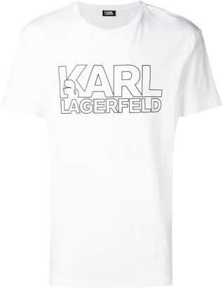 Karl Lagerfeld logo T-shirt