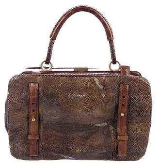 Devi Kroell Stingray & Snakeskin Handle Bag